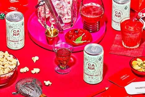 Cannabis Cranberry Sage Beverages
