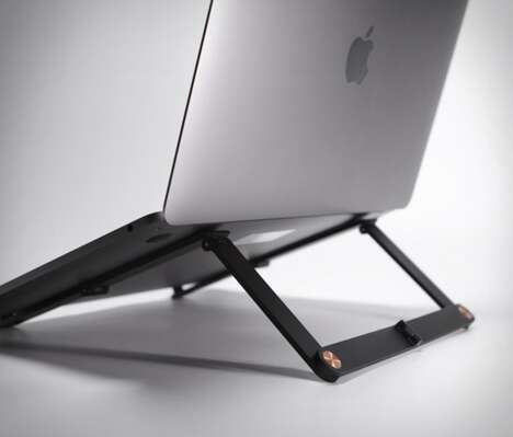 Collapsible Aluminum Laptop Stands