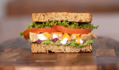 Meatless Vegan Sandwiches