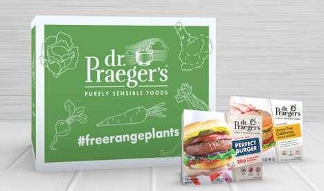 Festive Vegan Burger Boxes