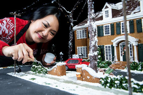 Cinematic Gingerbread Houses