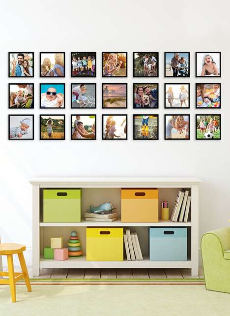 Magnetic Photo Walls
