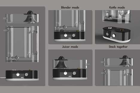 Interchangeable Component Kitchen Appliances