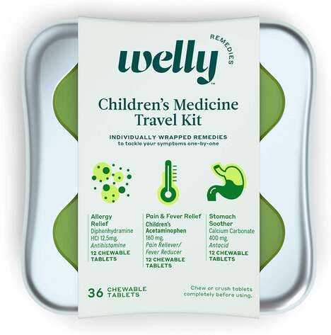 Kid's Travel Medicine Kits