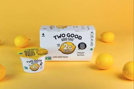 Waste-Reducing Fruit Yogurts