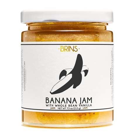Small-Batch Banana Jams