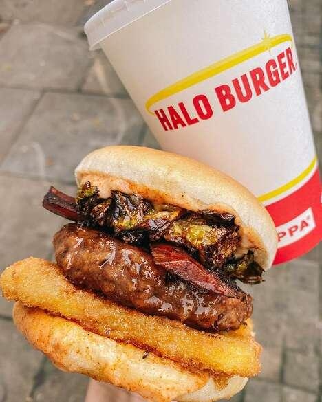 Festive Plant-Based Burgers