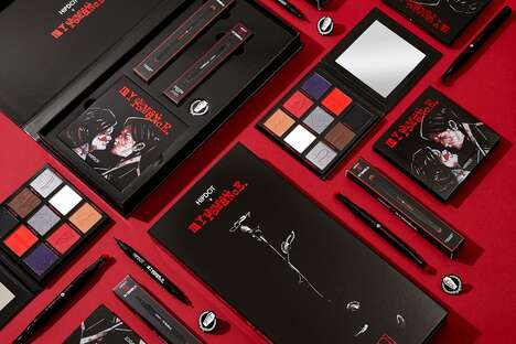 Emo Band-inspired Makeup Palettes