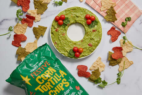 Festively Shaped Tortilla Chips