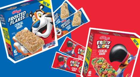 Breakfast-Inspired Cereal Bars