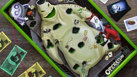 Ghoulish Operation Board Games
