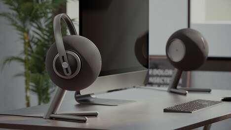 Anthropomorphized Headphone Speakers