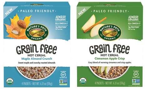 Nutty Grain-Free Breakfast Cereals