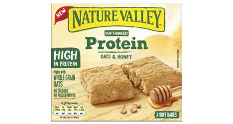 Soft-Baked Protein Snack Bars