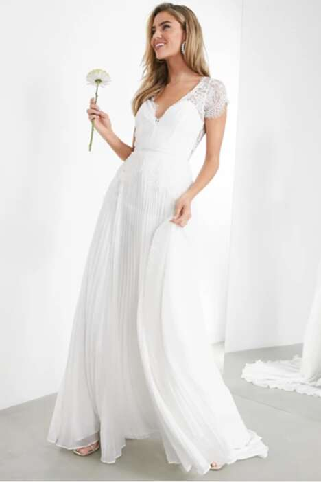 Cost-Conscious Wedding Dresses