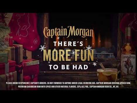 Hilarious Holiday Rum Campaigns
