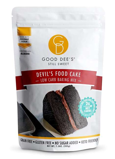 Better-For-You Low-Carb Cake Mixes