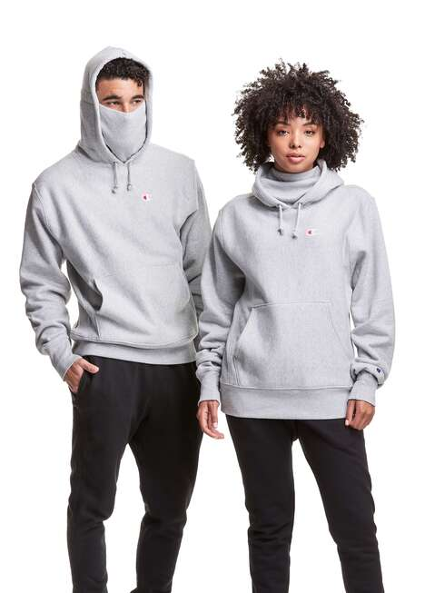 PPE-Inspired Protective Hoodies