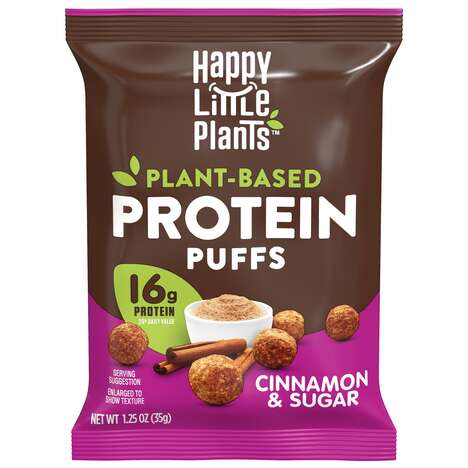 Plant-Based Protein Puffs