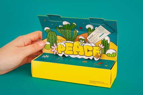 Pop-Up Beauty Packaging