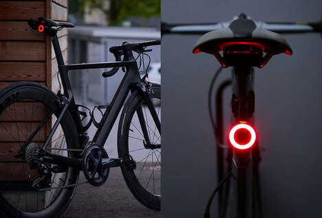 Automated Cyclist Safety Lights