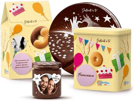 Personalized Festive Treat Packaging