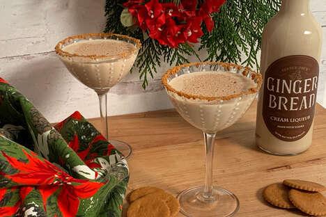Gingerbread-Flavored Cream Liqueurs