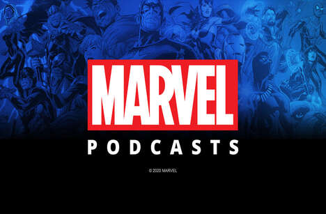 Exclusive Superhero-Themed Audio Shows