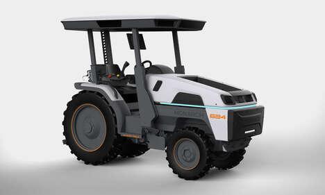 Autonomous Electric Tractors