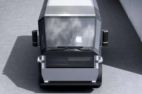 Eco-Friendly Small Business Trucks