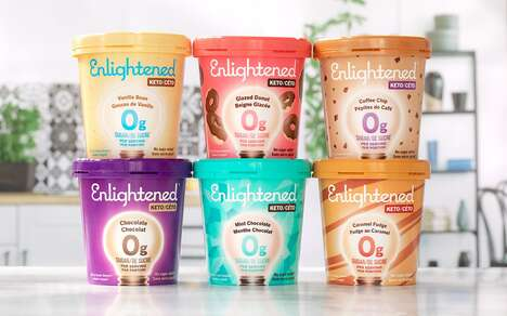 Zero-Sugar Frozen Dessert Launches