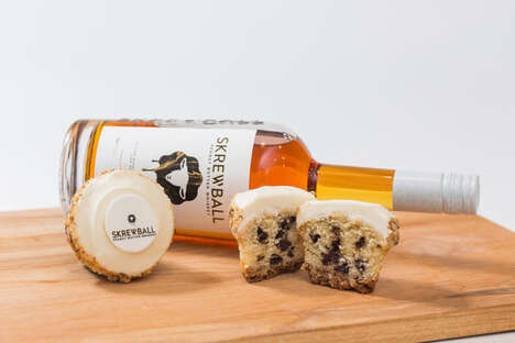 Collaborative Whiskey Cupcakes