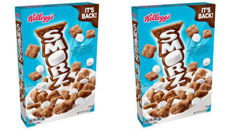 S'mores-Flavored Breakfast Cereals