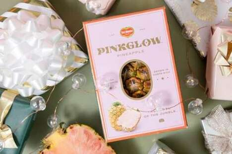 Posh Pink-Hued Pineapples