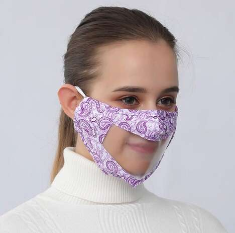 Accessible Transparent Mask Designs