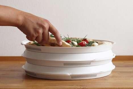 Reusable Bioplastic Pizza Boxes