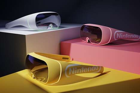 AR Gaming Console Glasses