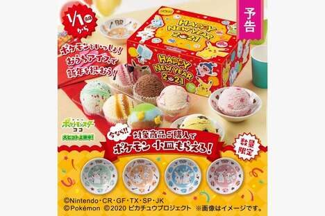 Anime-Themed Ice Cream Packs