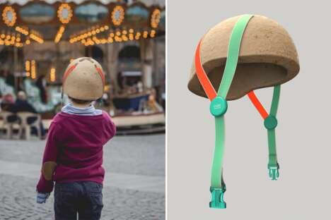 Sustainable Mushroom-Made Helmets