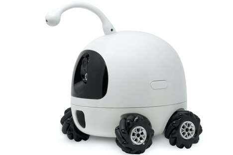 Omnidirectional Pet Care Robots