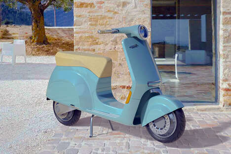 Electric Italian Scooter Designs