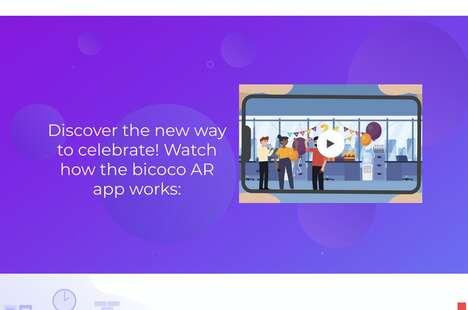 AR-Powered Celebration Apps