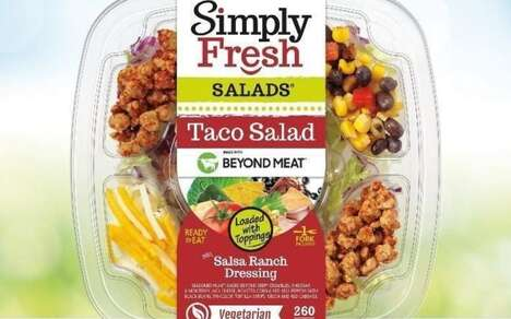 Plant-Based Meat Salads