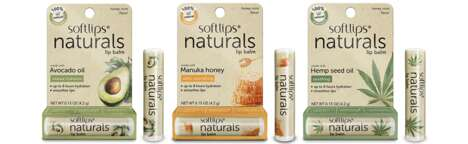Naturally Formulated Lip Balms