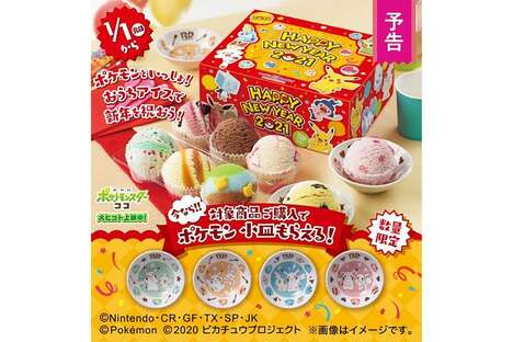 Anime Character Ice Cream Kits