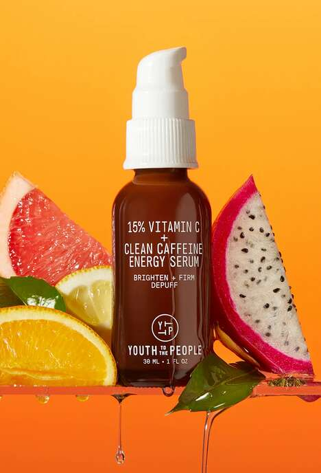 Plant-Derived Caffeine Serums