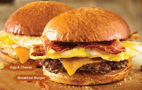 Burger Chain Breakfast Menus