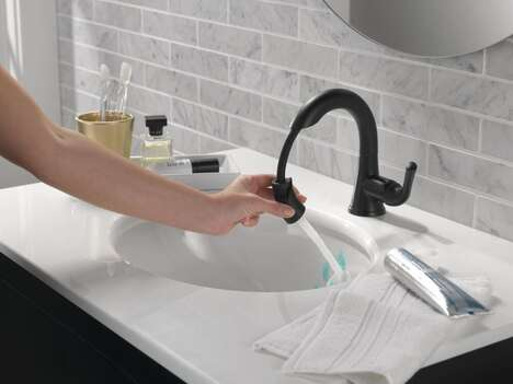 Pull-Down Bathroom Faucets