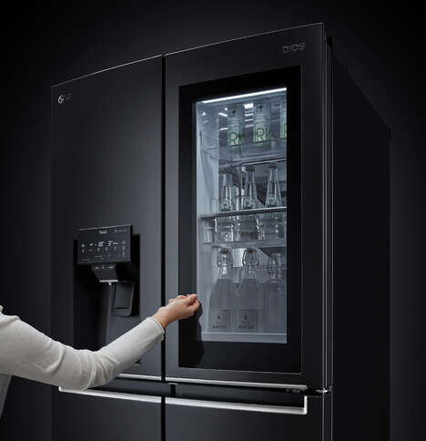 Voice Recognition Fridges