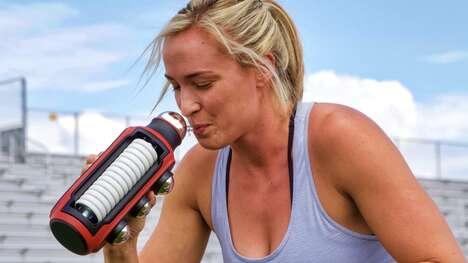Multifunctional Athlete Hydration Vessels